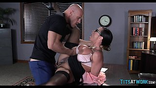 Thick Slut getting Dicked in Her Office