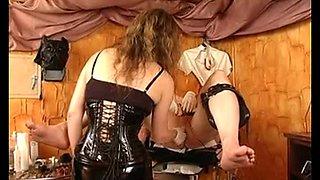 electro punishment and milking