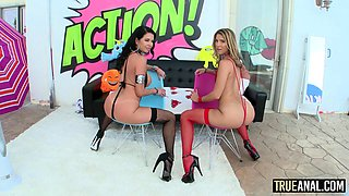Veronica Avluv and Tara Ashley show that they have few