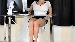 Secretary Strapon Humiliation