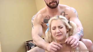 Petite Young Blonde Girl Kidnapped Fucked and Strangled