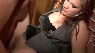 Female snogfest at stripper party