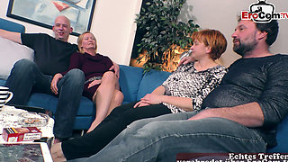 german swinger groupsex orgy with housewifes