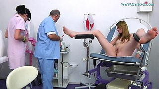 Doctor Touches Her Sweet Wet Twat