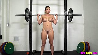Cory Chase - Muscled Mom Works Out Naked - Fitness With Busty Blonde Milf
