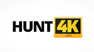 HUNT4K. Dude sells girlfriend's twat to guy and continues...