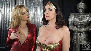Superheroine Wonder Woman Is a Hypnotized Sex Slave