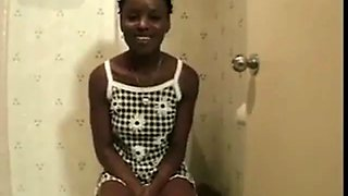 Mocha black girl enjoys when a big cock is inserted in her little ass hole xlx