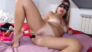 Big Boobs Mature Italian MILF Squirt and Anal Orgasm