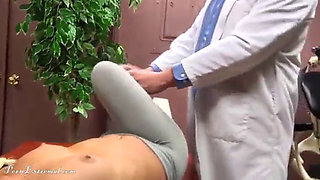 Dentist Knocks Out Blonde Patient Then Fucks and Strangles Her
