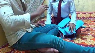 Indian Best Schoolgirl Ever, Deep Fuck