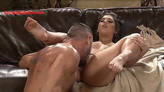 Lonely Housewife Cheats on Husband With His Friend