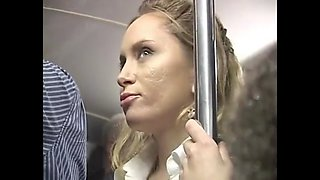 Blondie groped on the bus