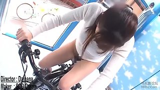 Squirting On A Bike Compilation