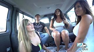 Alexas Morgan Maria Ellie Fuck in the Van