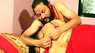 Ashram guru fuck innocent Indian housewife