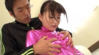 Japanese honey feels entire inches ramming her so good