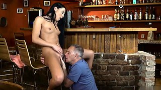 Morning love for daddy and hot old lady Can you trust your g
