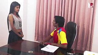 Desi girl has office romance sex
