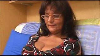 Italian mom son very large cock