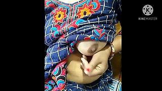 Horny bhabhi self seducation