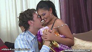 Jasmine Black & Steve Holmes in Snake Drilling Anal - Jasmine Black Videos
