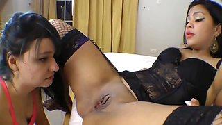 Poor Brazilian Licking Slave