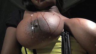 DROOL - Spit on my Massive Tits