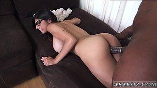 hairy arab creampie first time mia khalifa tries a big black dick video