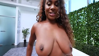 Gorgeous Thick Black Girl Tries Out For Rap Video