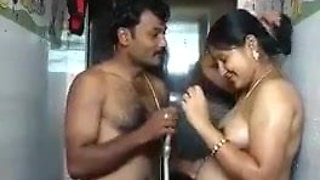 South Indian desi couple