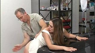 Sexual spanking