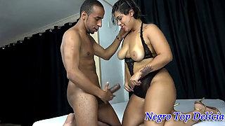 Negro Top Delicia e Doce Lola