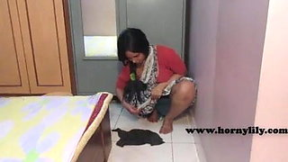 Indian Maid without Bra and Panty