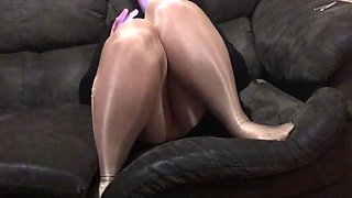 Spandex angel teasing hubby&#039s friend compilation