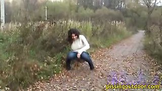 Autumn pissing