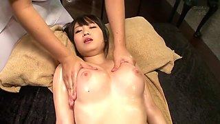 Exotic Japanese slut Aika Yumeno in Incredible JAV censored Bathroom, Big Tits clip
