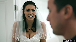 Bride to be has some serious business to take care of first