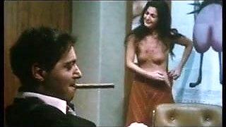 O. Karalatos in nude panties in 1976 movie