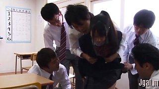 slutty schoolgirl in a wild action clip clip 1