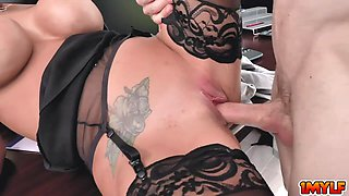 Brooklyn Chase making her boss an offer that he cannot resist