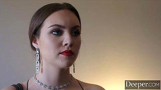 DEEPER Manuel mentors sexy Freya, an aspiring dominatrix