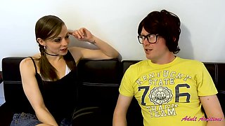 Adultauditions - E229 - Poppy Fucked By A Nerd