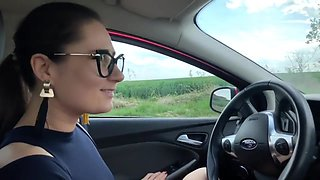 Amateur Porn Girl Stops Her Car For Sex With Guy Part1