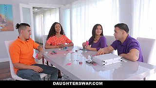 Demi Sutra & Julz Gotti In Strip Poker And Stroke Her