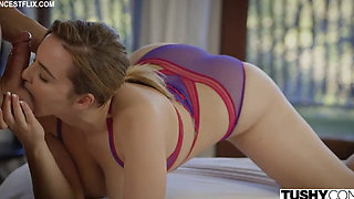 Natasha Nice Getting Her Asshole Busted Open by her Stepbrother
