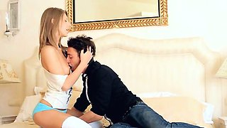 Aggressive lovemaking with true babe