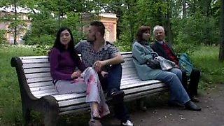 Russian Public sex