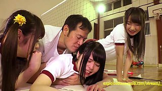 Cute Jav Idol Teens Bibi Yuna Ayu Fucked In The Gym Petite Girls With Small Tight Asses