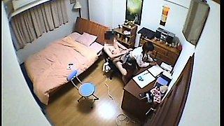 Teen Schoolgirl Voyeur Room Sex